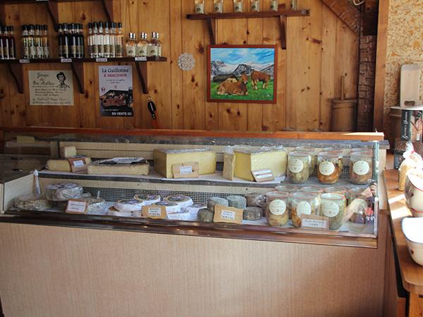 Sélection de fromages savoyards