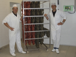 Fabrication des diots et pormoniers